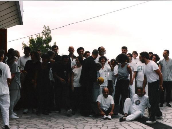 Pescara 1995 ritiro di tai chi chuan