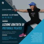Blu Geometrico Fitness Volantino (Video di Facebook)