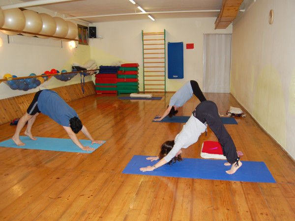 2007 corso Iyengar Yoga